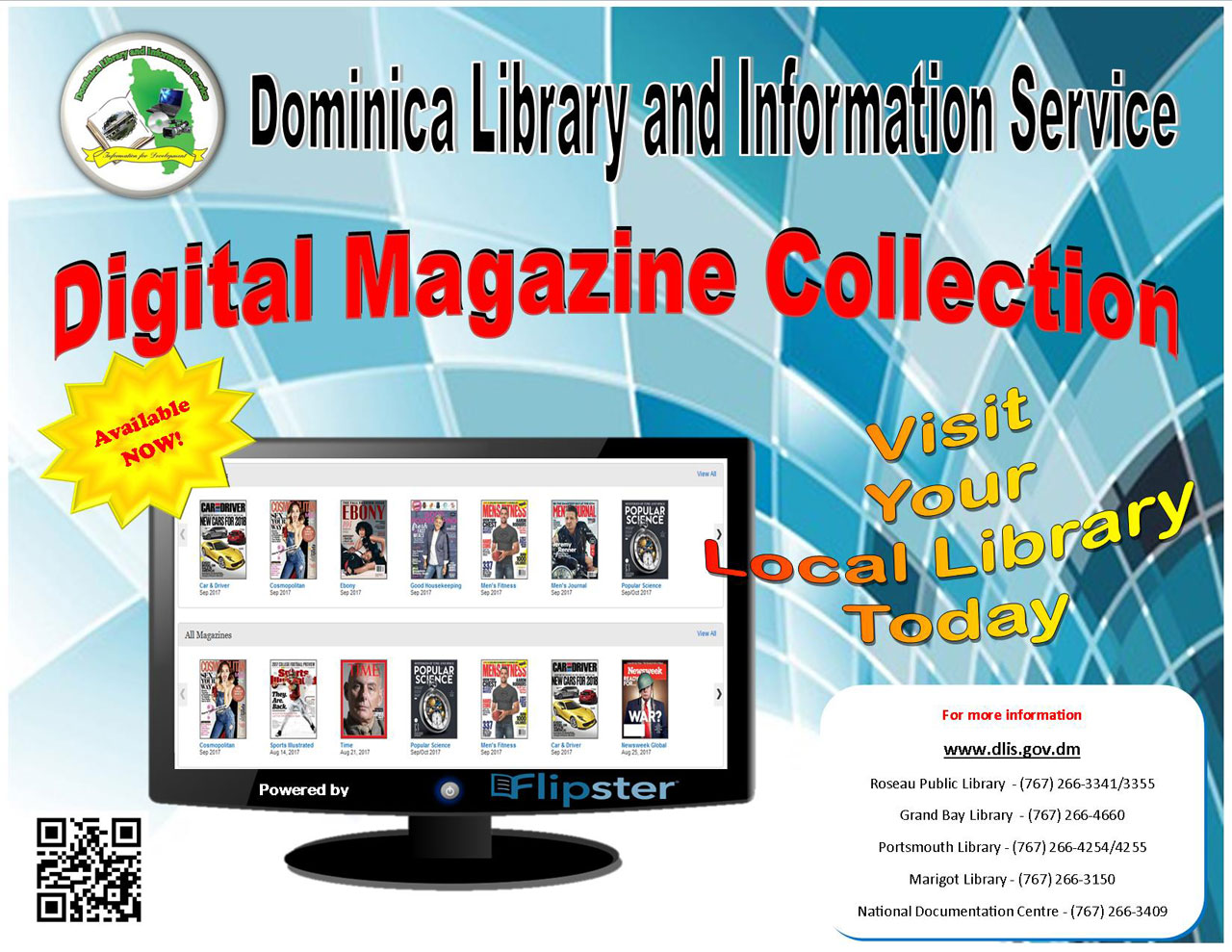 Flipster Digital Magazine Collection (Click to enlarge)