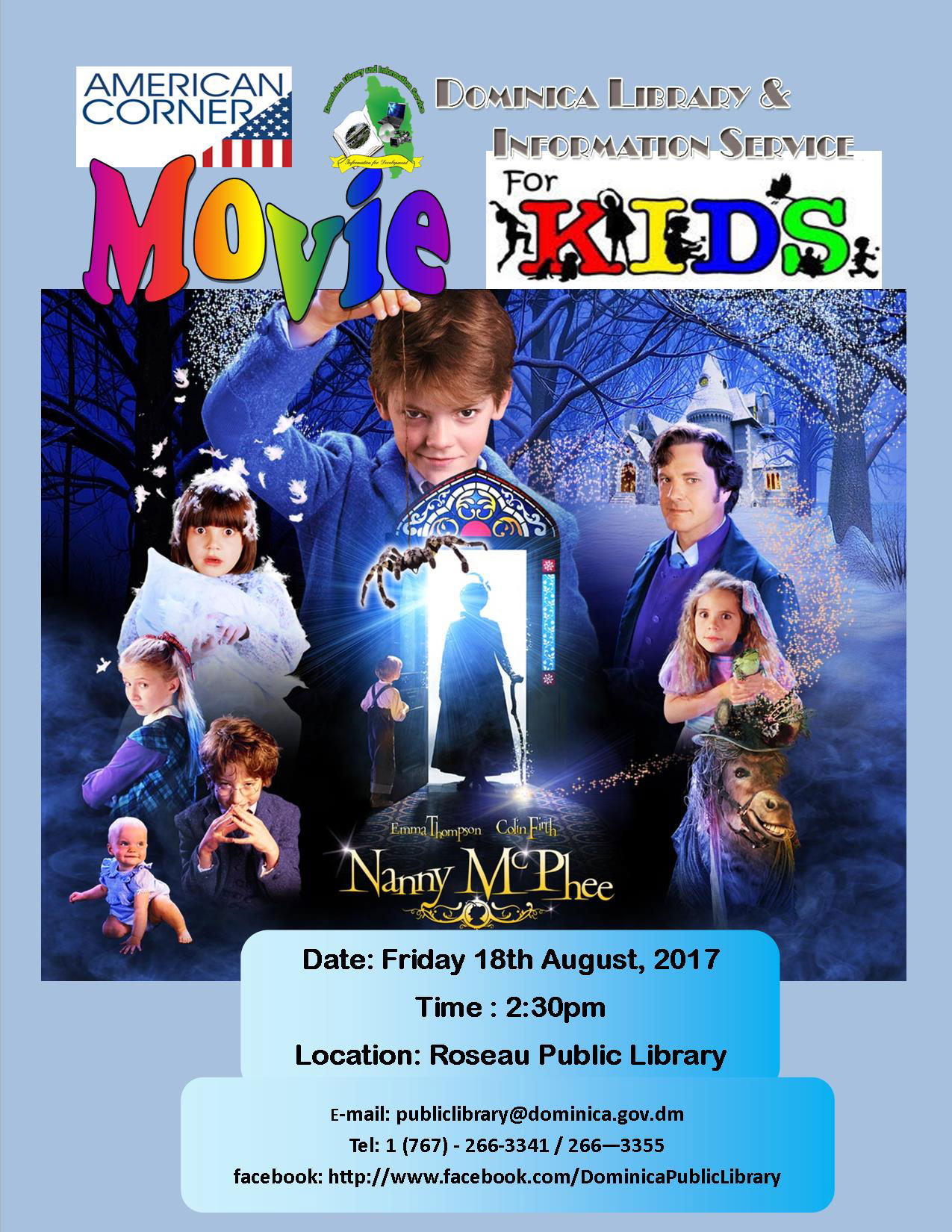 Movie for Kids: Nanny McPhee (Click to enlarge)