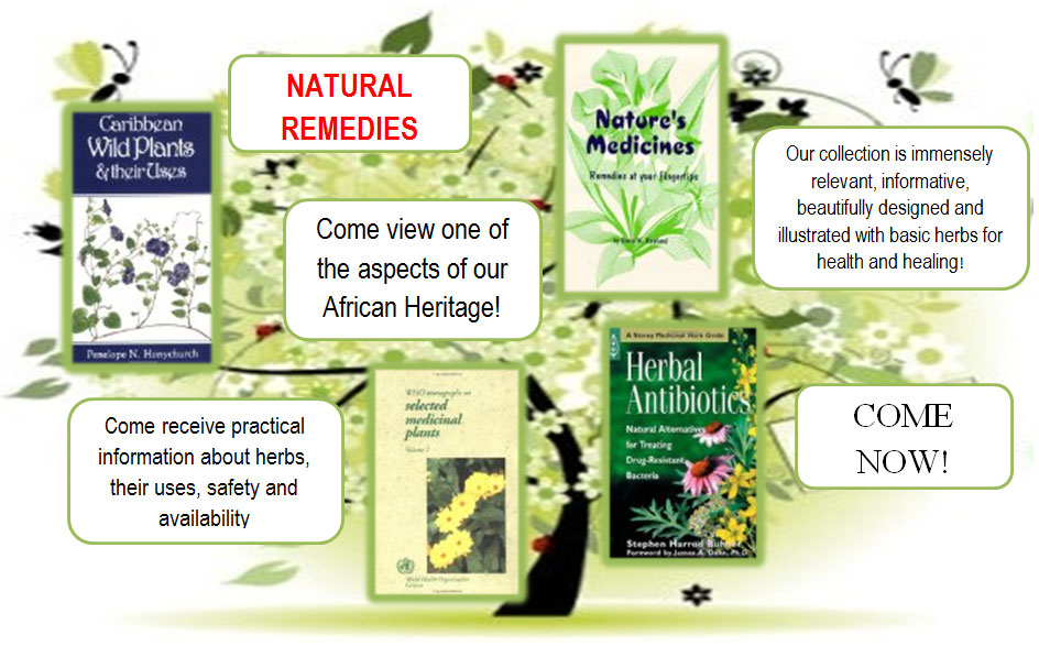 Natural Remedies (Click to enlarge)