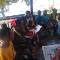 Carnival Queens Reading Session 2015